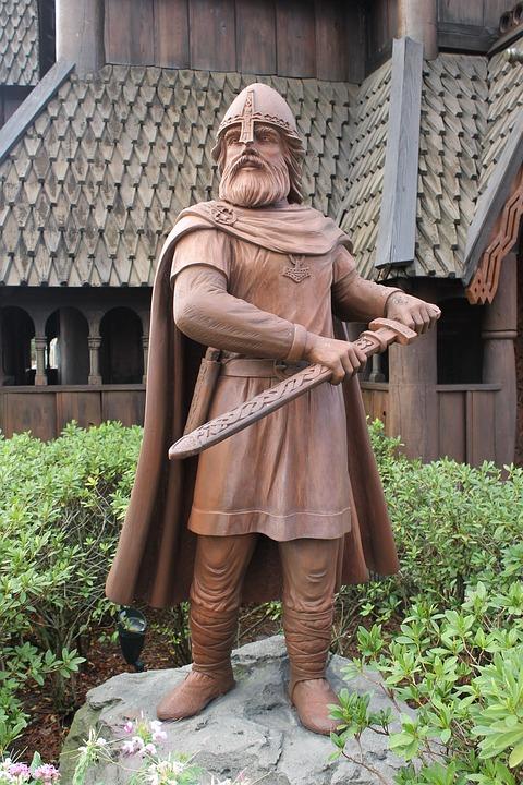 Viking, Warrior, Sword, Helmet, Scandinavian