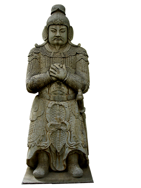 Statue, Warrior, Chinese, Monument, Sculpture