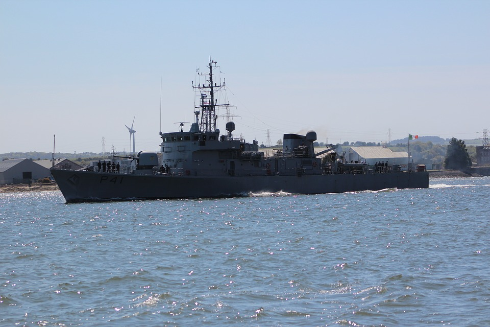 Navy, Port, Ireland, Warship, Marina, Sea