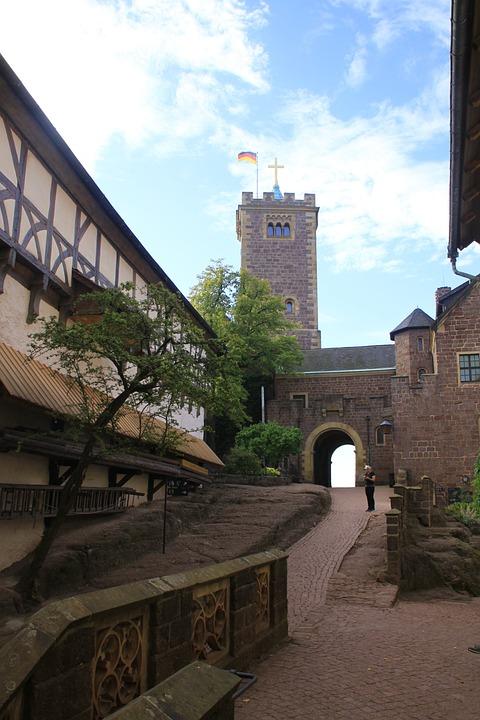 Wartburg Castle, Eisenach, Luther, Thuringia Germany