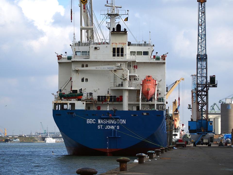 Ship, Bbc, Washington, Port, Antwerp, Freighter