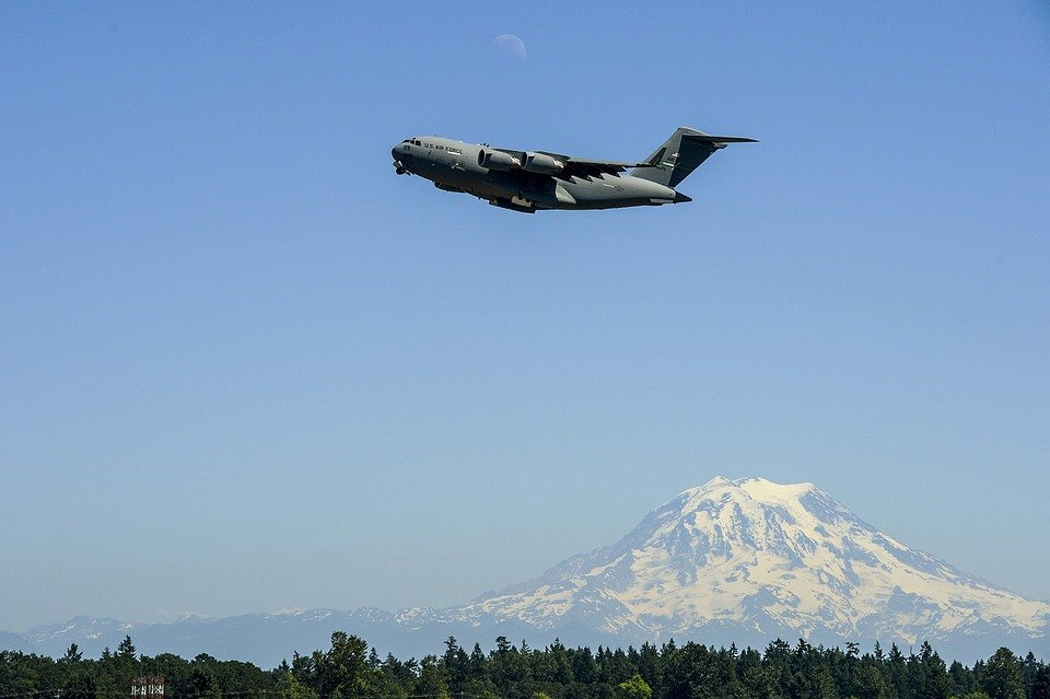 C-17 Globemaster, Jet, Military, Air Force, Washington