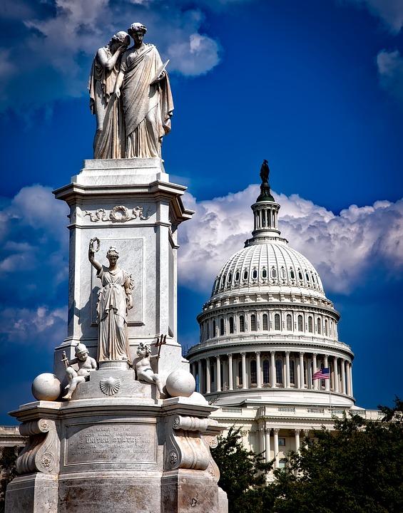 Washington Dc, C, City, Cities, Urban, Peace Monument