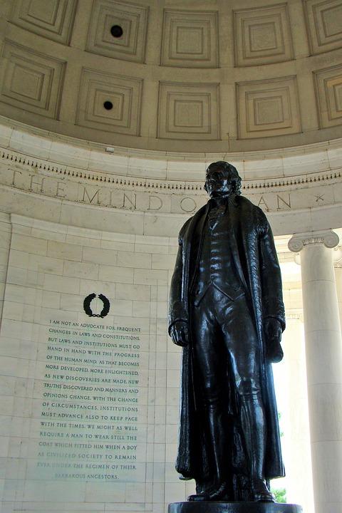 Thomas Jefferson Memorial, Statue, Washington Dc