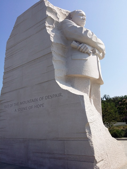 Monument, Martin Luther King, Memorial, Dc, Washington