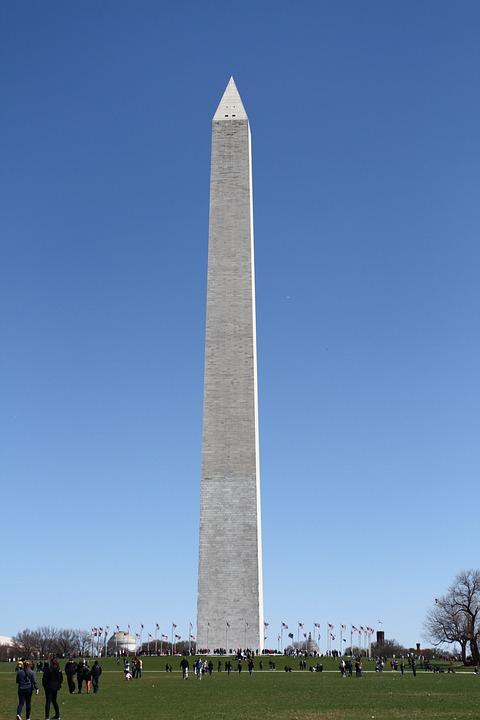 Washington Monument, Dc, Monument, Memorial, Landmark