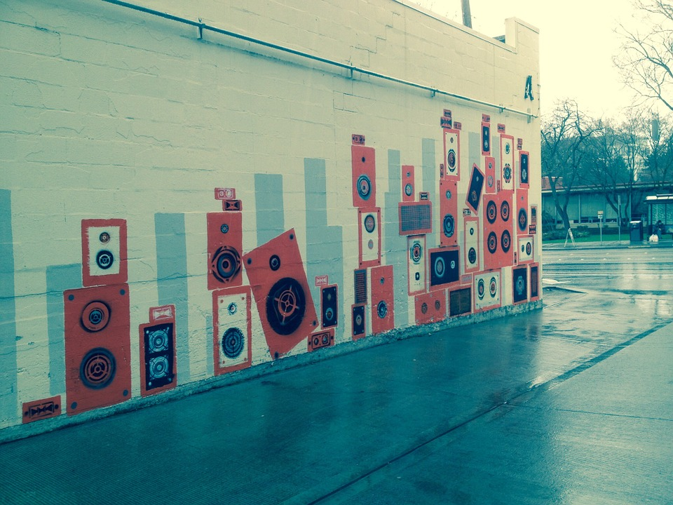 Street Art, Seattle, Urban, Washington, Alley