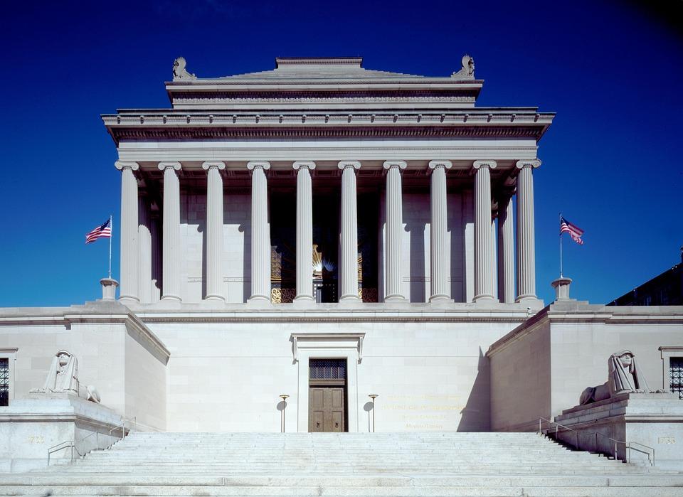 National Archive, Washington, Usa, Washington Dc