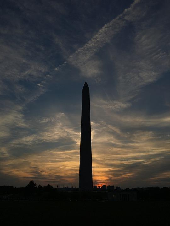 Washington, Washington Monument, Shadow, America