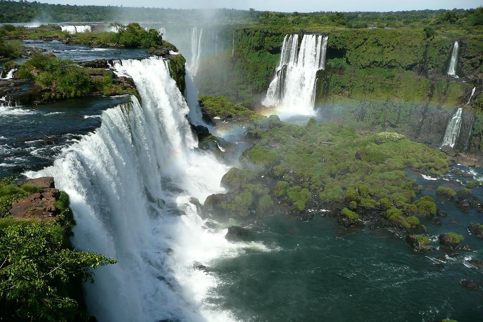 Iguazu, Brazil, Wass, Force Of Nature
