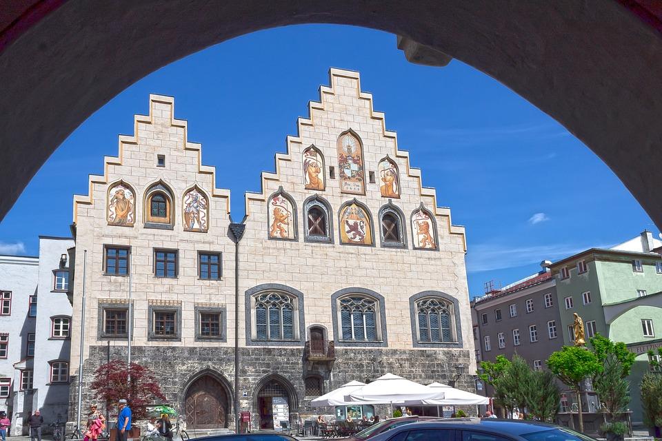 Wasserburg, Downtown, Historic Center, Town Hall
