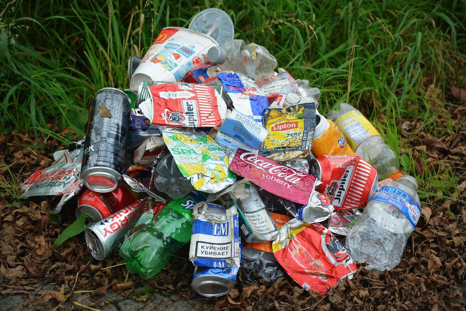 Waste, Garbage, Cans, Illegal Dumping