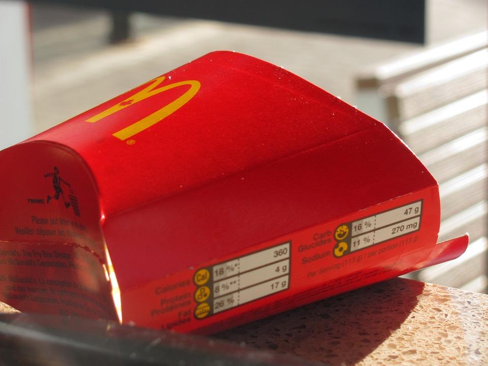 Mcdonald's, Fries, Food, Eating, Junk, Waste, Empty