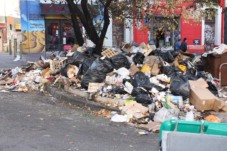 Garbage Heap, Waste, Garbage, Waste Pile, Marseille