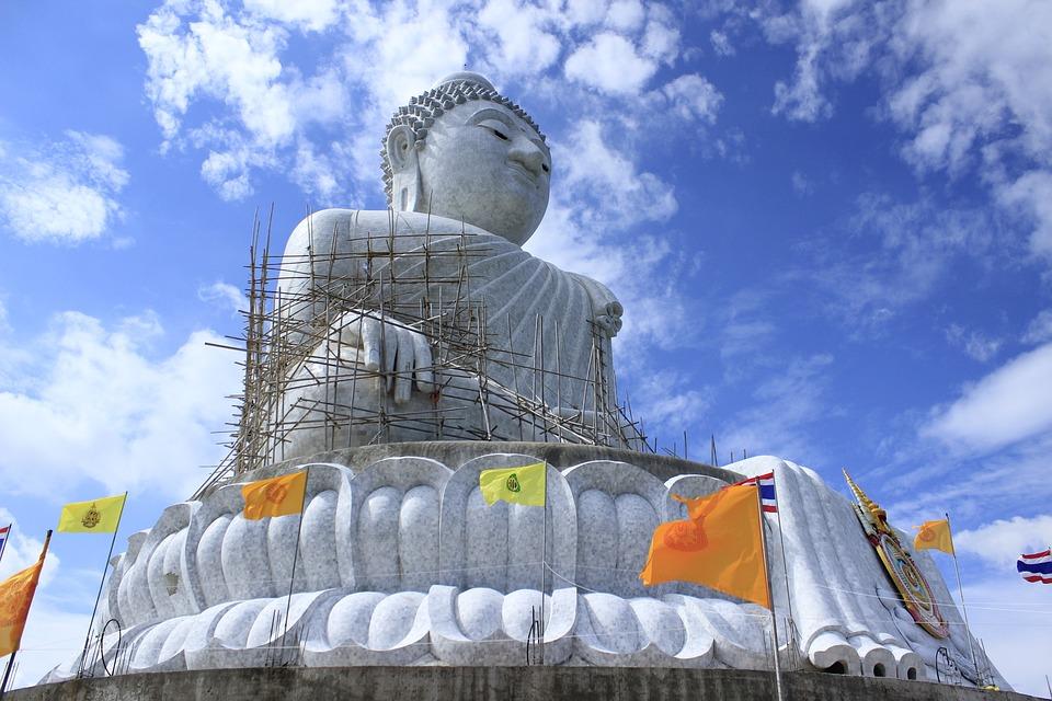 Wat, Thai, Thailand, Temple, Religion, Phuket, Asia
