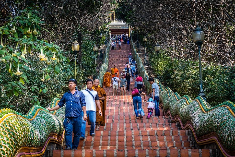 Travel, Outdoors, Religion, Wat Doi Suthep