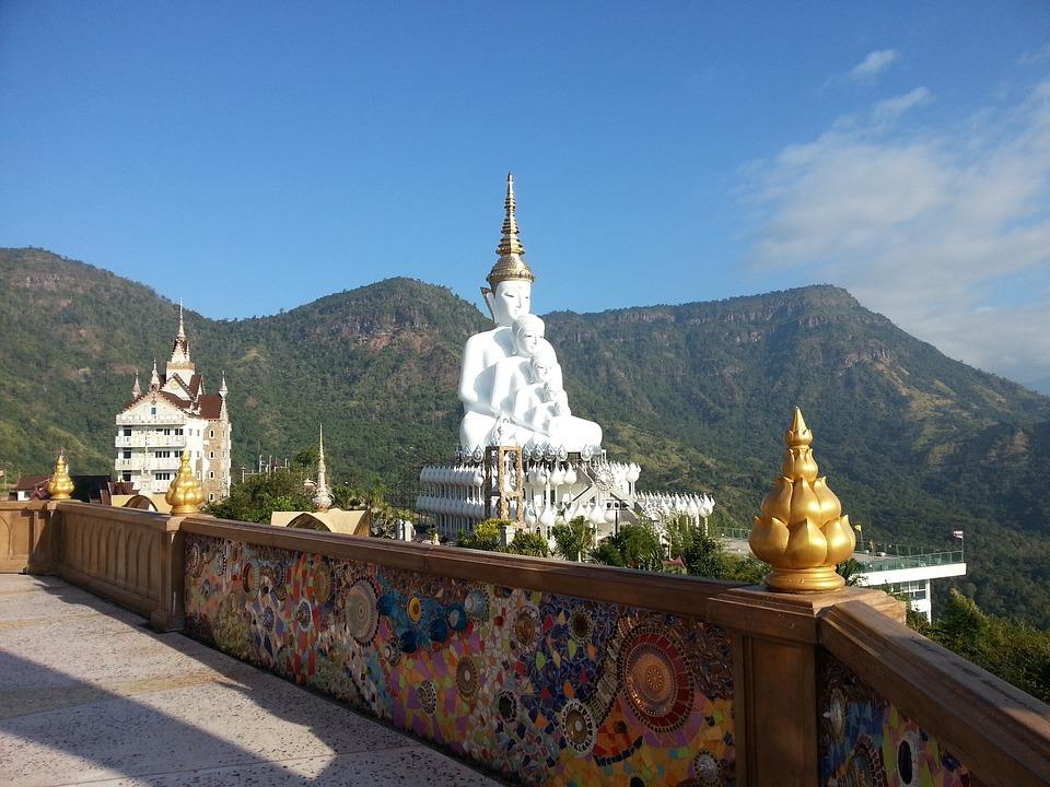 Wat Pha Hidden Glass, Petchaboon, Thailand