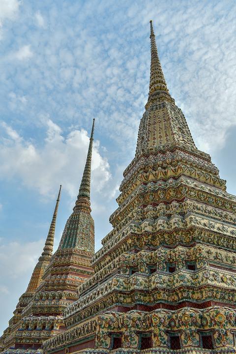 Wat Pho Temple, Thailand, Temple, Buddha, Meditation