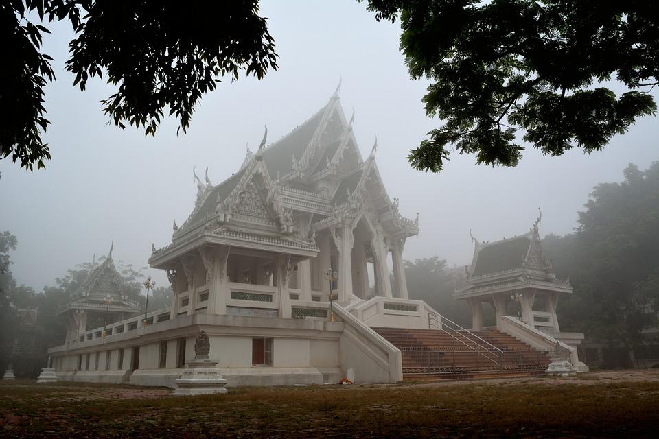 Watmahasawat, Temple, Wat, Thailand, Religion, Palace