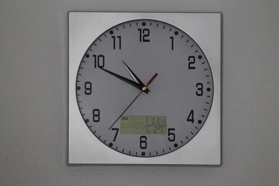 Watch, Wall, Quartz, Analog