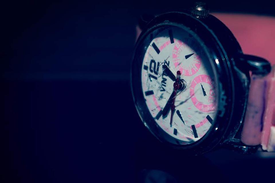 Wristwatch, Watch, Time, Broken, Glass, Fashion