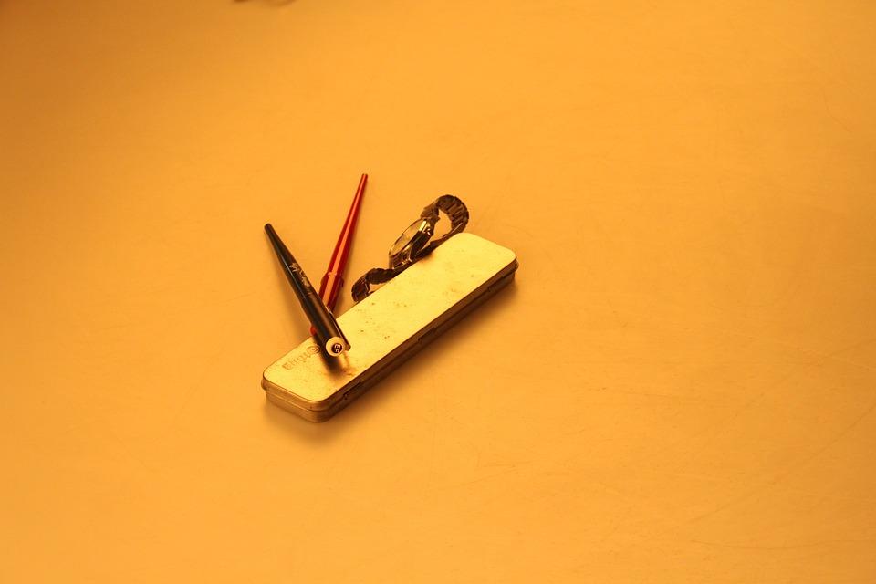 Pen Box, Pen, Watch