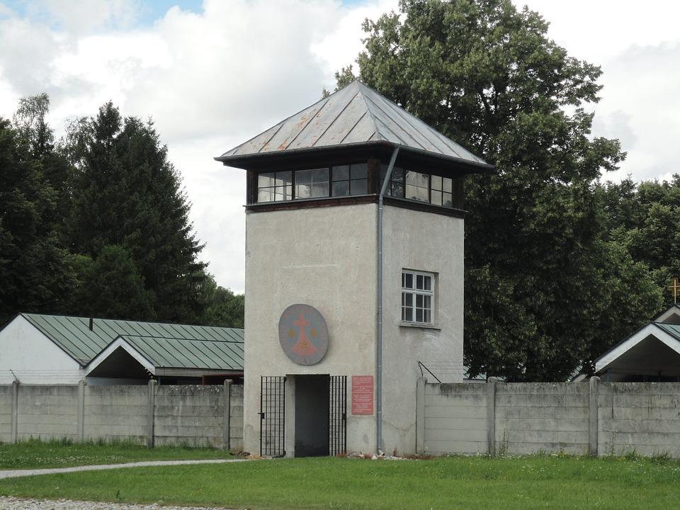 Watchtower, Dachau, Konzentrationslager, Crime