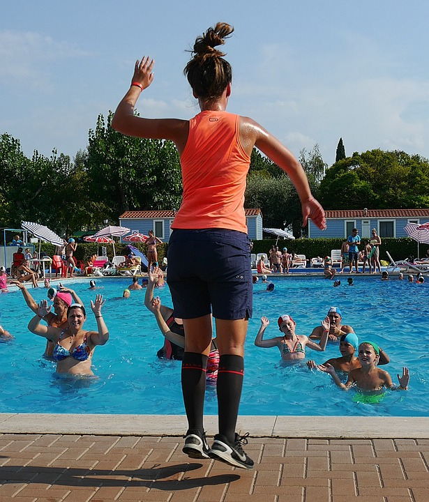 Water Aerobics, Garda, Sport, Head Of Sport