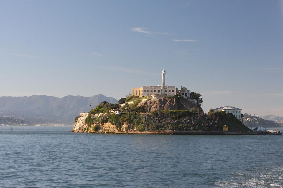Water, Sea, Travel, Seashore, Sky, Alcatraz