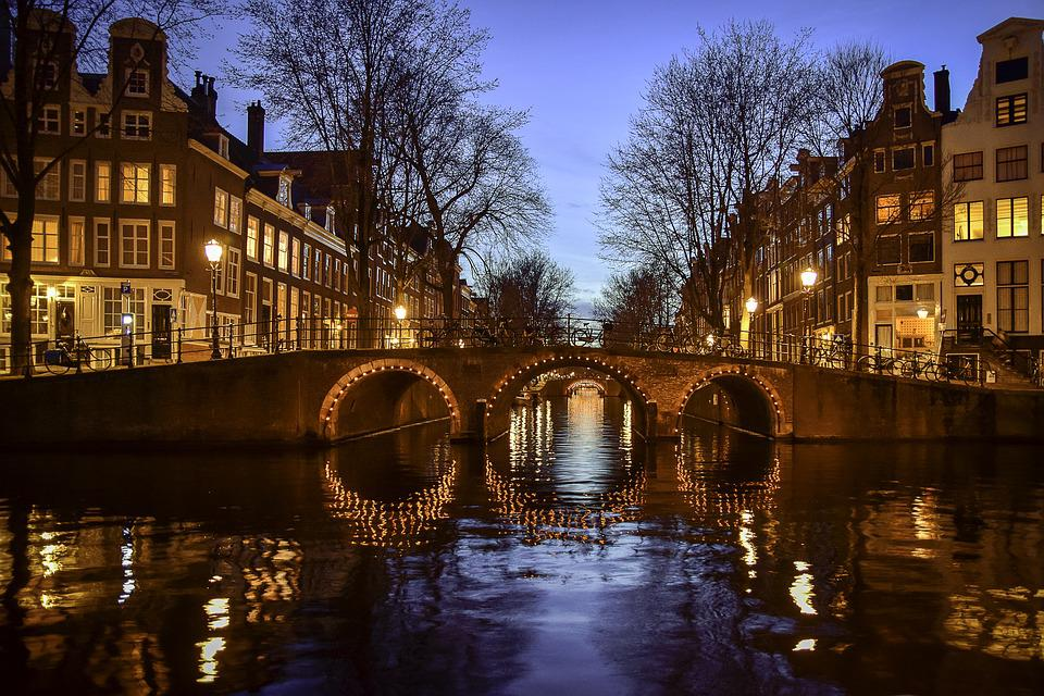 Amsterdam, Canals, Netherlands, Holland, Water, City