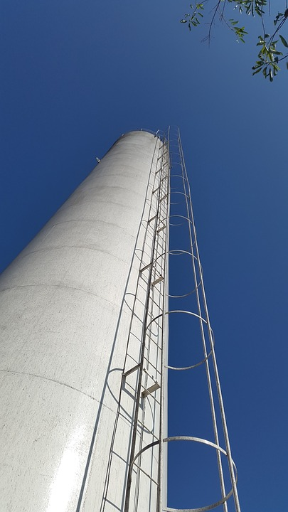 Tower, Antenna, Water