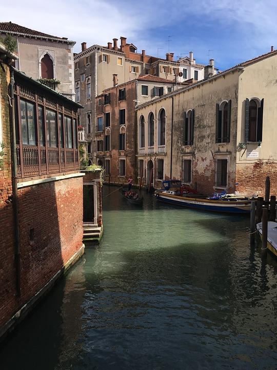 Venice, Landscape, Architecture, Water