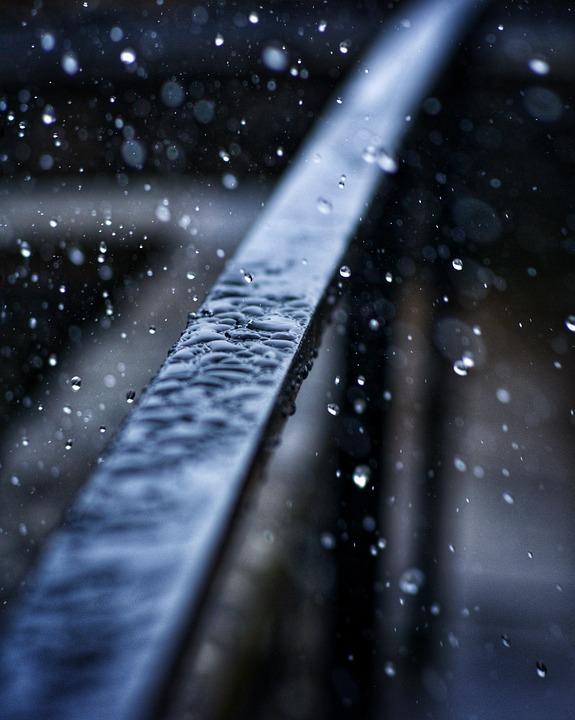 Railing, Rain, Wet, Nature, Drip, Architecture, Water