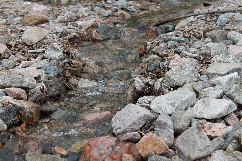 Creek, Baikal, Stones, Nature, Water