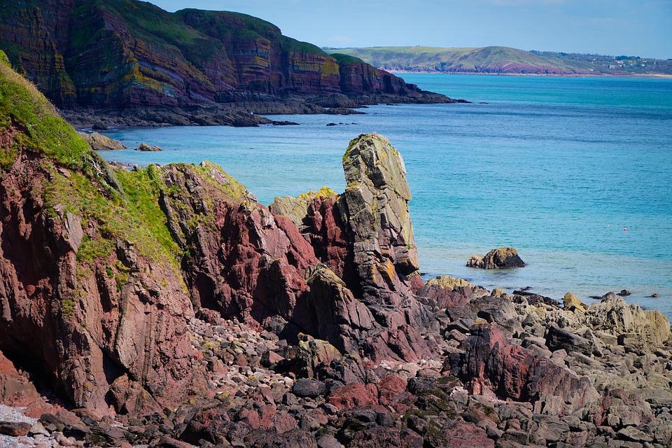 Coast, Rocks, Coastline, Sea, Beach, Water, Rock, Ocean