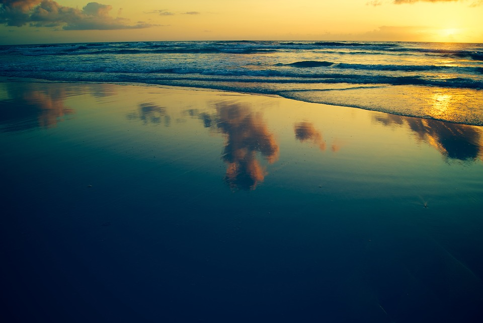 Water, Beach, Reflective, Sea