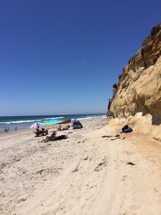 Beach, Seashore, Sea, Sand, Water