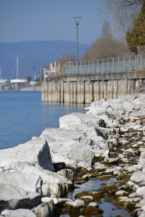 Lake Constance, Water, Beach, Stones