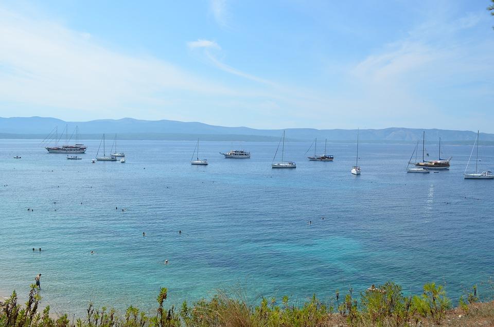 Croatia, Mediterranean, Sea, Water, Holiday, Blue, Sky