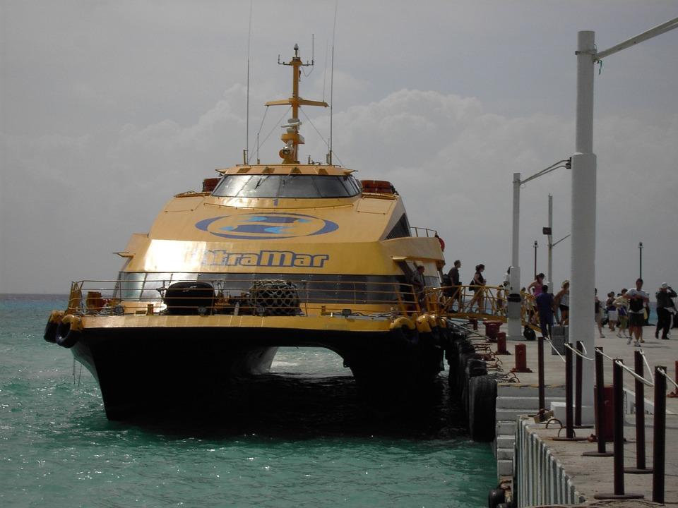 Ship, Holiday, Water, Port, Caribbean, Boardwalk, Jetty
