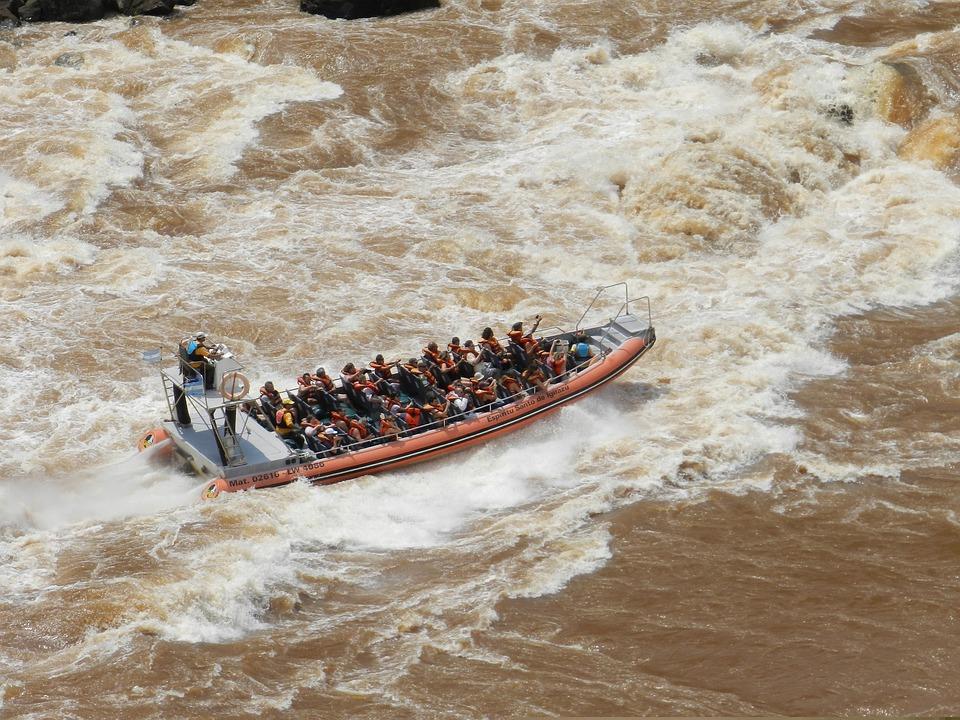 Navigation, Water, Landscape, River, Boat