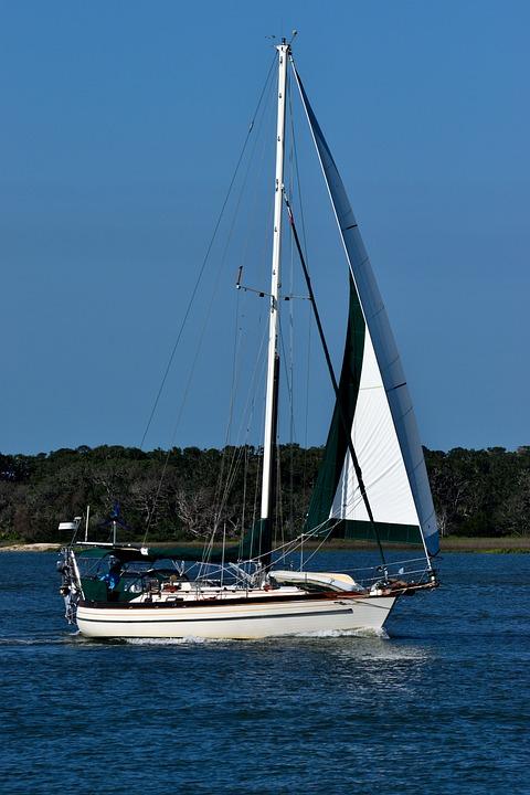 Water, Sailboat, Sail, Yacht, Sea, Boat, Summer, Travel