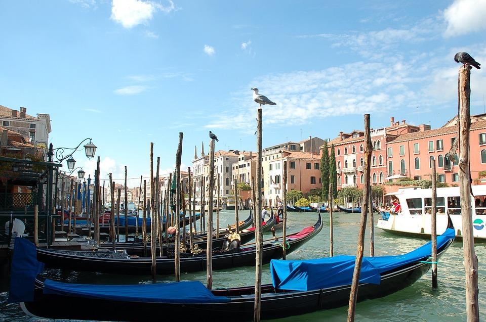 Venetian, Canal, Gondola, Boat, Water, Italy, Venice