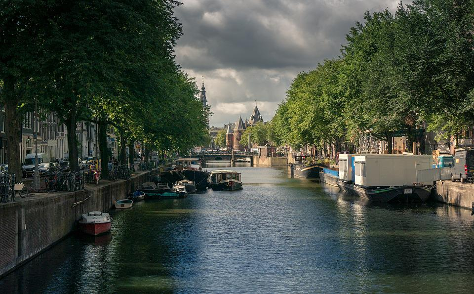 Amsterdam, Canal, Netherlands, City, Water, Tourism