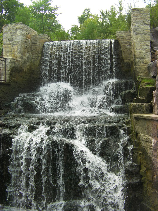 Waterfall, Water, Fall, Falls, Stream, Cascade, Flowing
