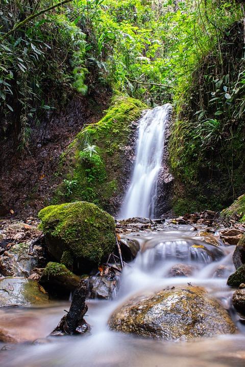 Waterfall, Nature, Water, River, Landscape, Cascade