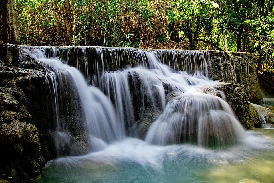 Waterfalls, Cascades, Nature, River, Water, Scenery