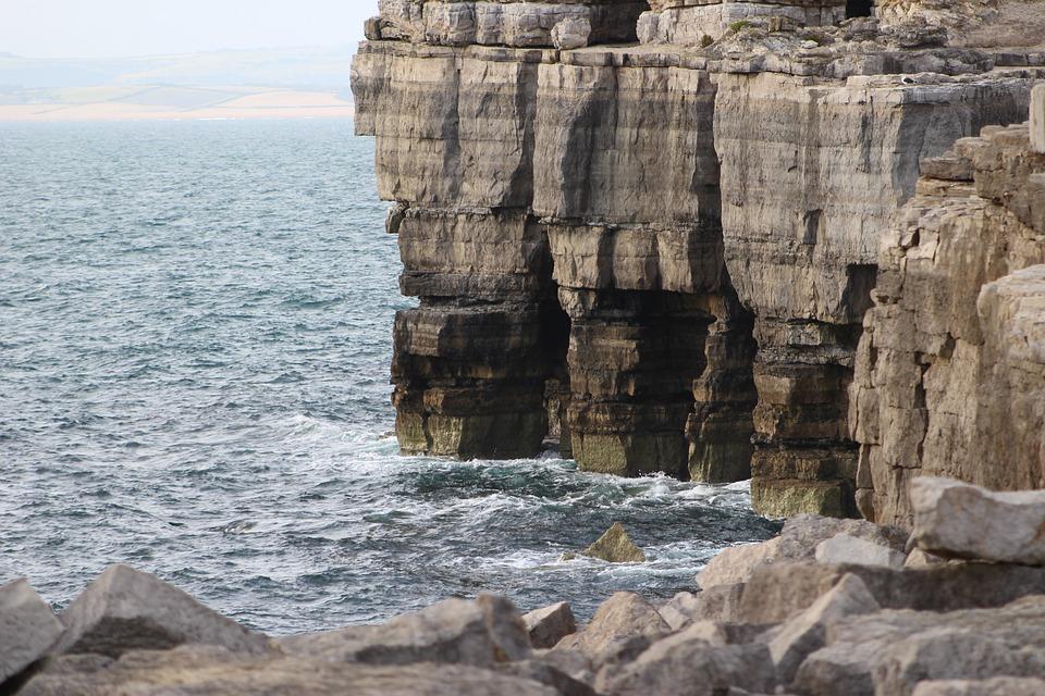 Water, Nature, Coast, Rock, Ocean, Shore, Cliff, Waves