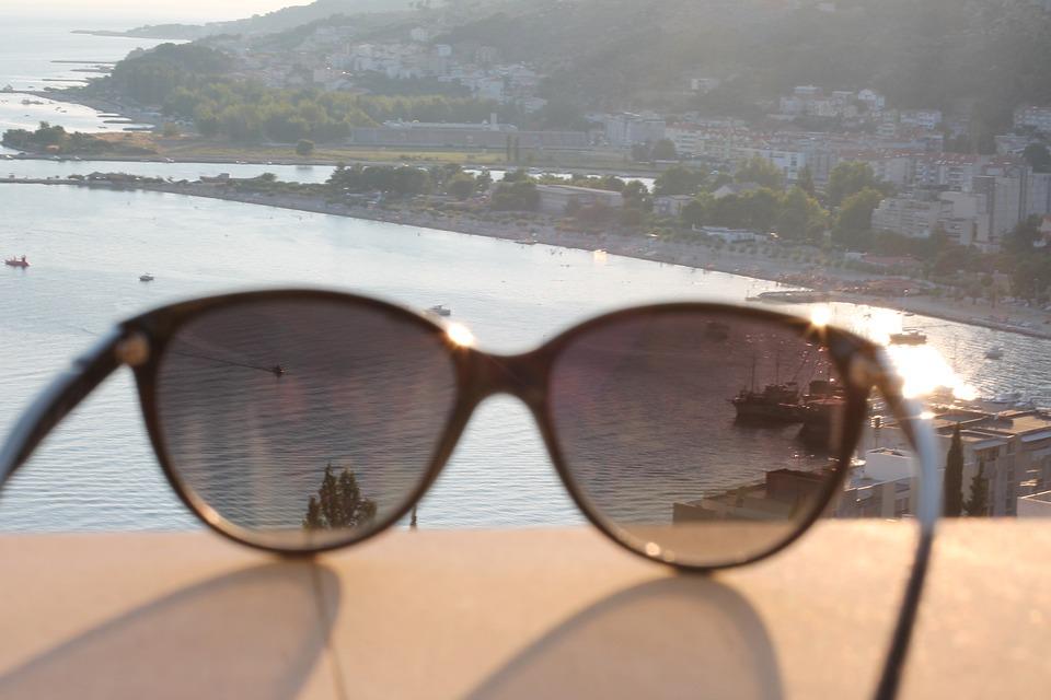 Coast, Summer, Sunglasses, Beach, Water, The Sea, Sand