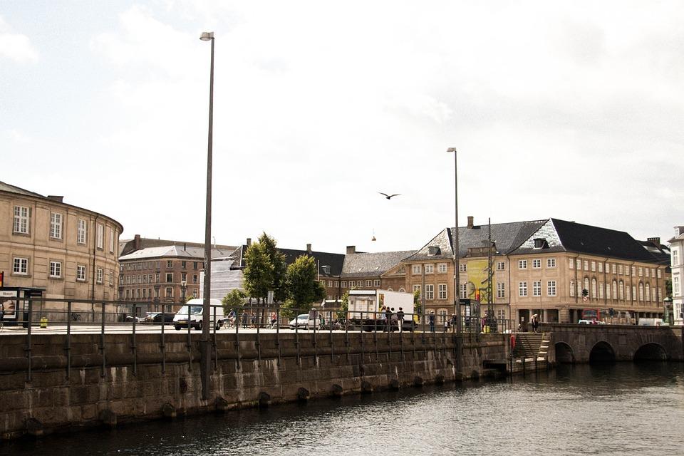 Copenhagen, Sea, Rain, Cold, Travel, Denmark, Water